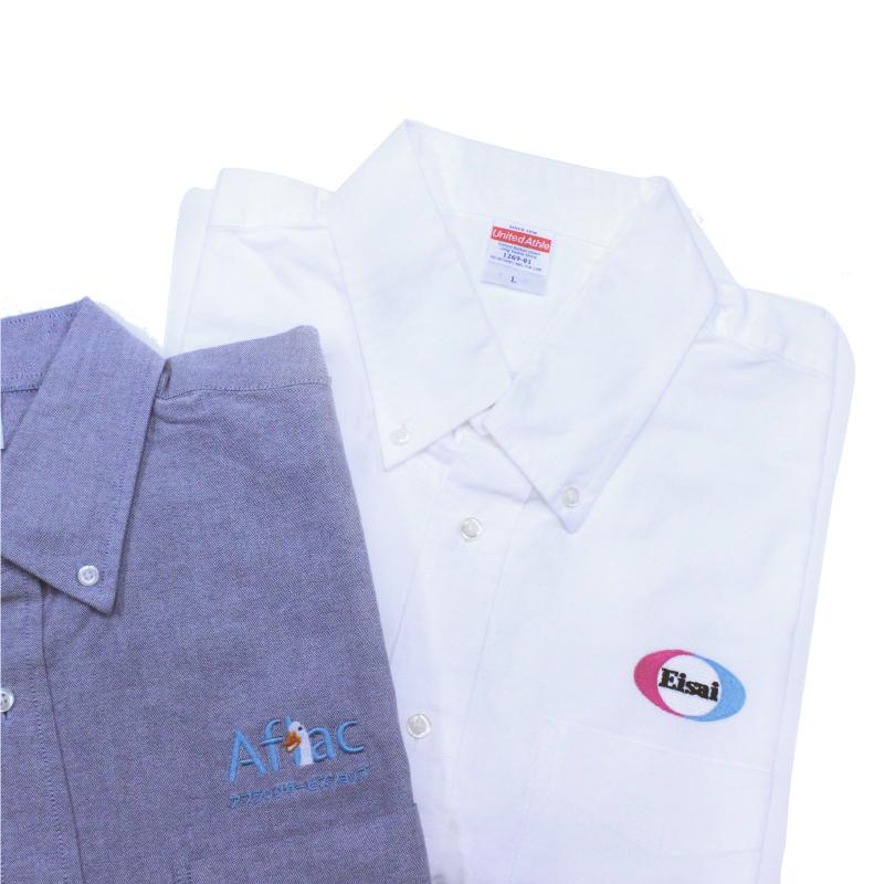 刺繍Tシャツ・刺繍シャツ